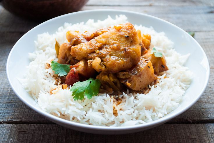 Bengali Bhetki Curry is a delicious and simple fish curry using sustainable Asian Sea Bass.