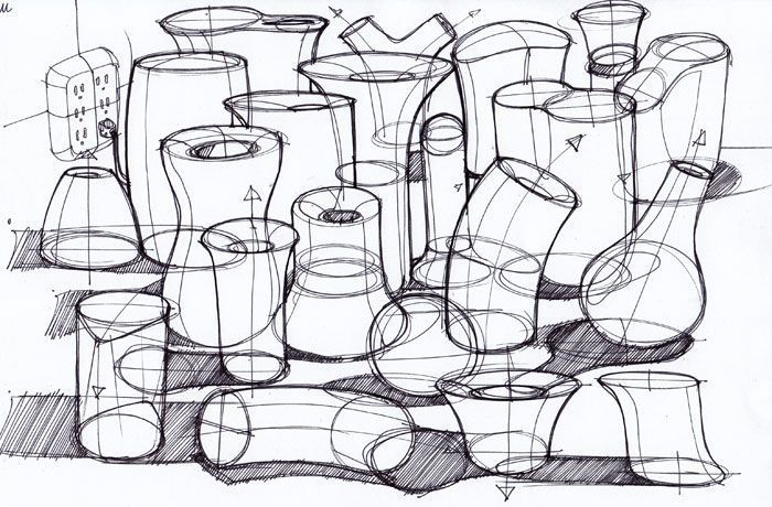 """Souris [ """"Sketches of gamin 