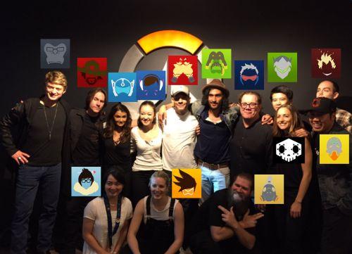 Overwatch Voice Actors
