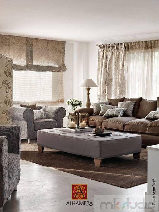 #cream #brąz #brown #rolety #roletyrzymskie #wnętrze #salon #dekoracje #dekoracjeokien #interior #wnetrza #zasłony #firany #okno #okna #home #homedecor >> http://www.mkstudio.waw.pl/systemy-wewnetrzne/zaslony-rzymskie/