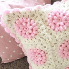 crochet pattern for pillow covers