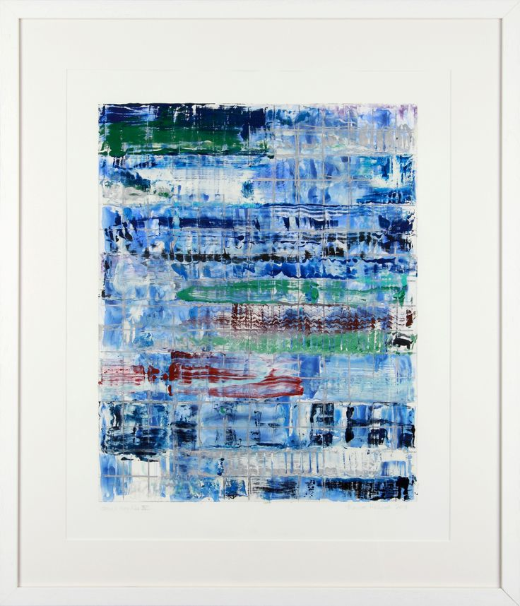 Monroe Hodder | Other Worlds IV | 30 x 25 inches | Watercolour & Oil Monotype | £2,500