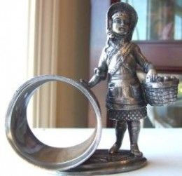 Victorian Figural Silverplate Napkin Rings: Faked or Real? By karMALZEKE