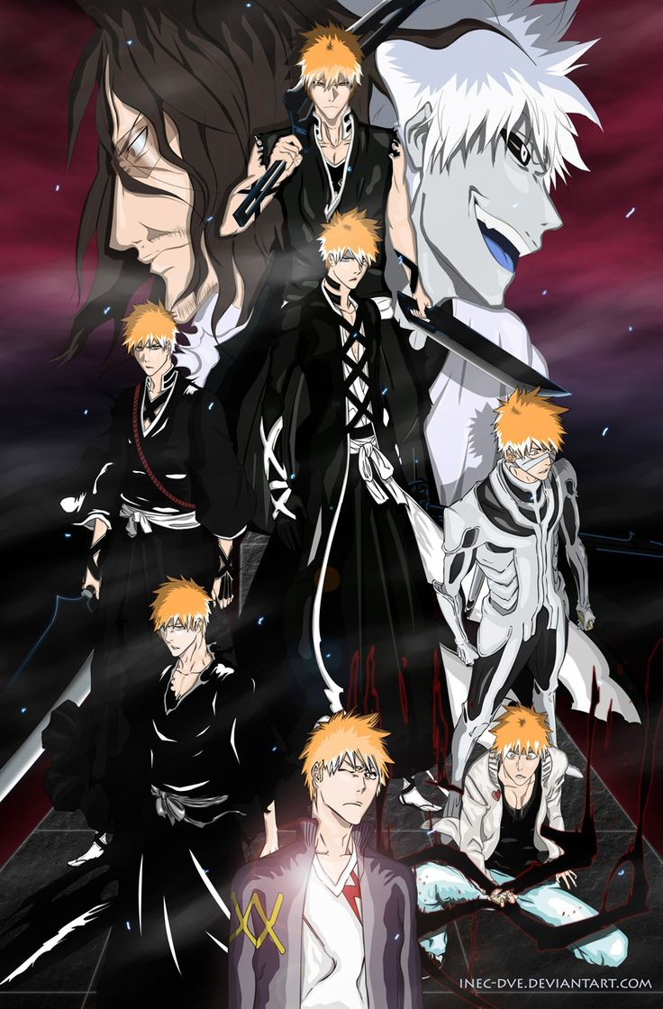 Ichigo's evolution