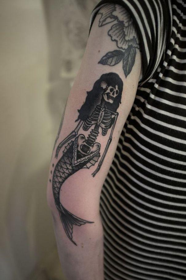 old school tattoos on sleeves