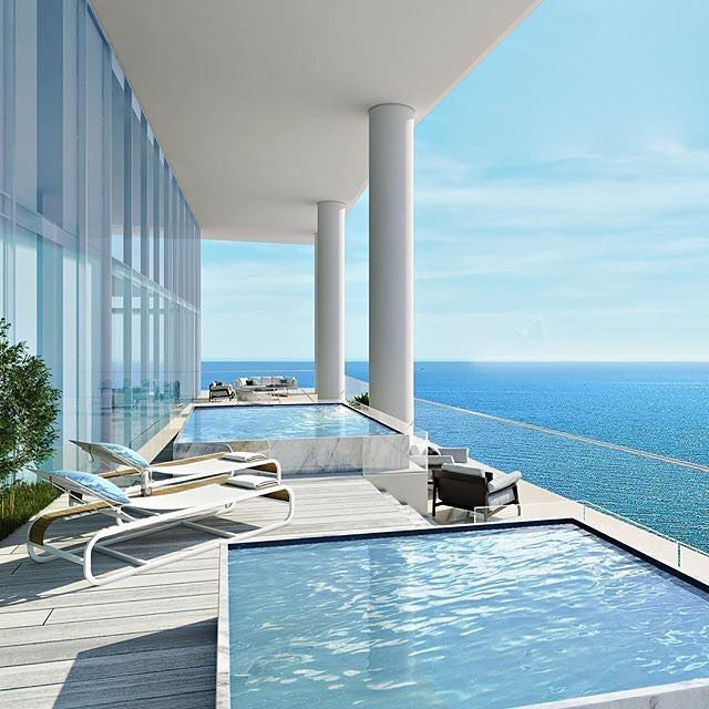 TURNBERRY SUNNY ISLES BEACH Located at 18501 Collins Avenue Sunny Isles Beach Florida 33160 ranging in price from $3M to $22M. Turnberry Ocean Club will be home to 154 lucky residents ranging in size from 2750 sq.ft. to over 10000 square feet. A resort-style infinity pool at sea level will cascade into the ocean while owners enjoy the private pool and beach cabanas. Multi-level signature private club 300-feet above the sea level will include hammam spa massage rooms infinity edge pools wine…
