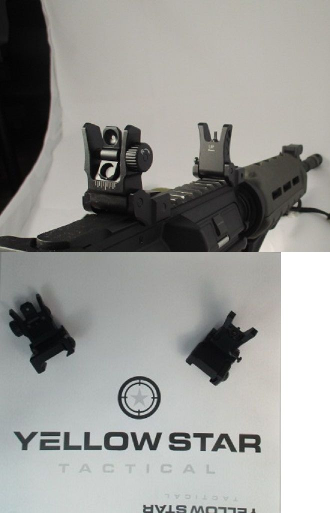 Scope Mounts and Accessories 52510: Utg Low Profile Flip-Up Buis Sight Set Folding Iron Sights Weaver Rail Mount -> BUY IT NOW ONLY: $42.99 on eBay!