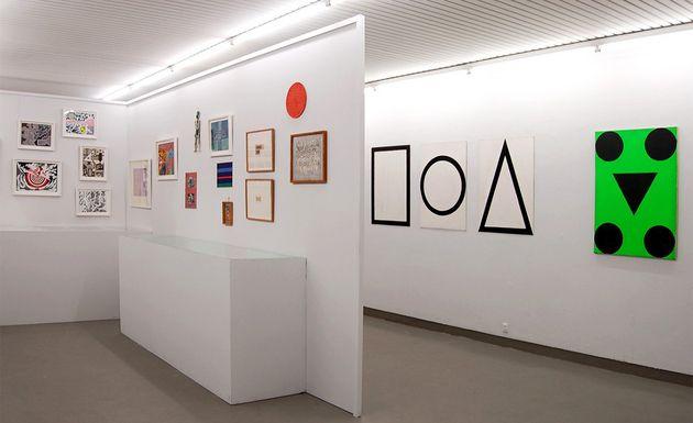 Albert Mertz, Albert Mertz - Inside Out (installation view), Galleri Tom Christoffersen, 2015