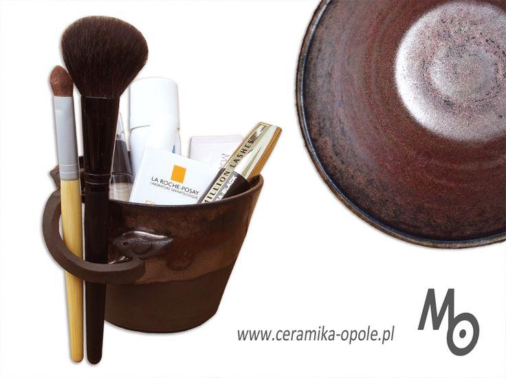 ceramic bathroom cup www.ceramika-opole.pl Małgorzata Orlik