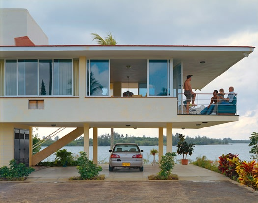 Cuban modernist architecture from the website of photographer Andrew Moore.
