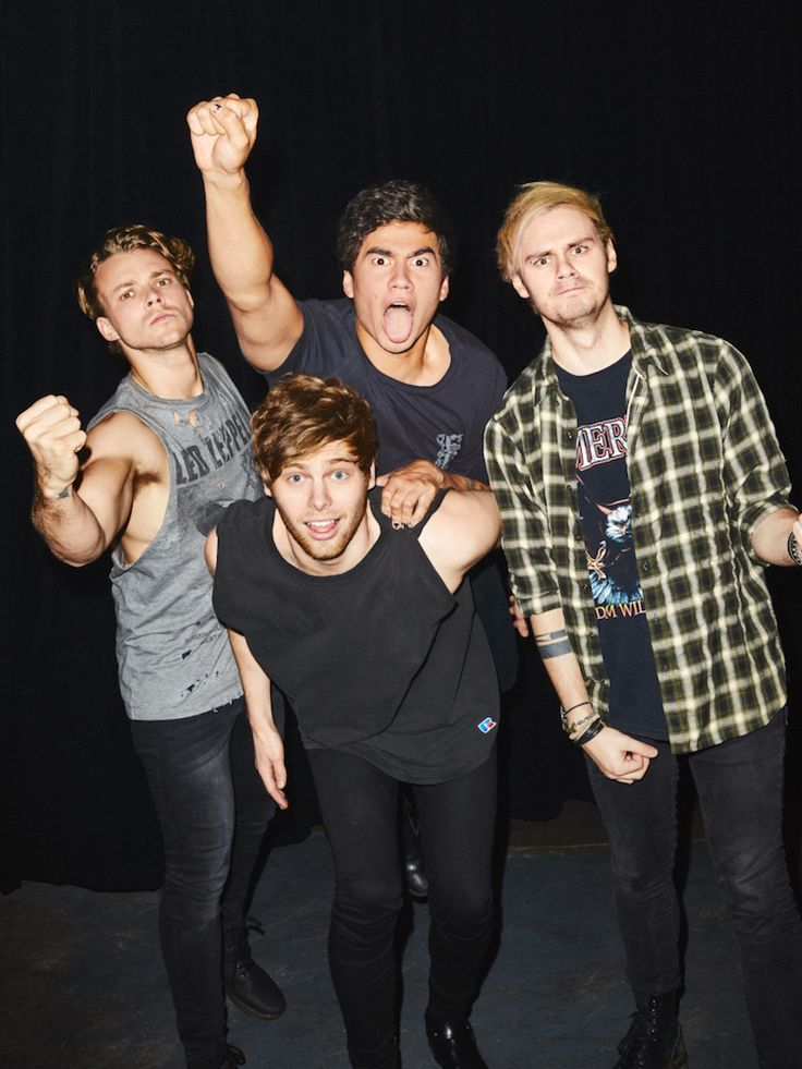 5SOSFam — aaronrichter:   5 Seconds of Summer for Kerrang! ©...