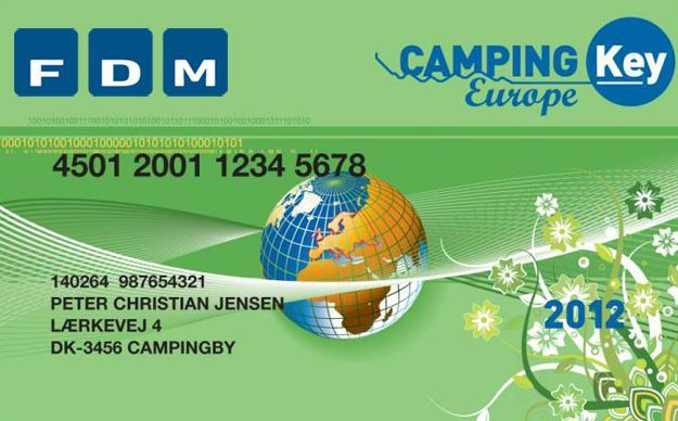 Campingpasset fungerer som ID-kort for dig og din husstand, når I er på campingferie