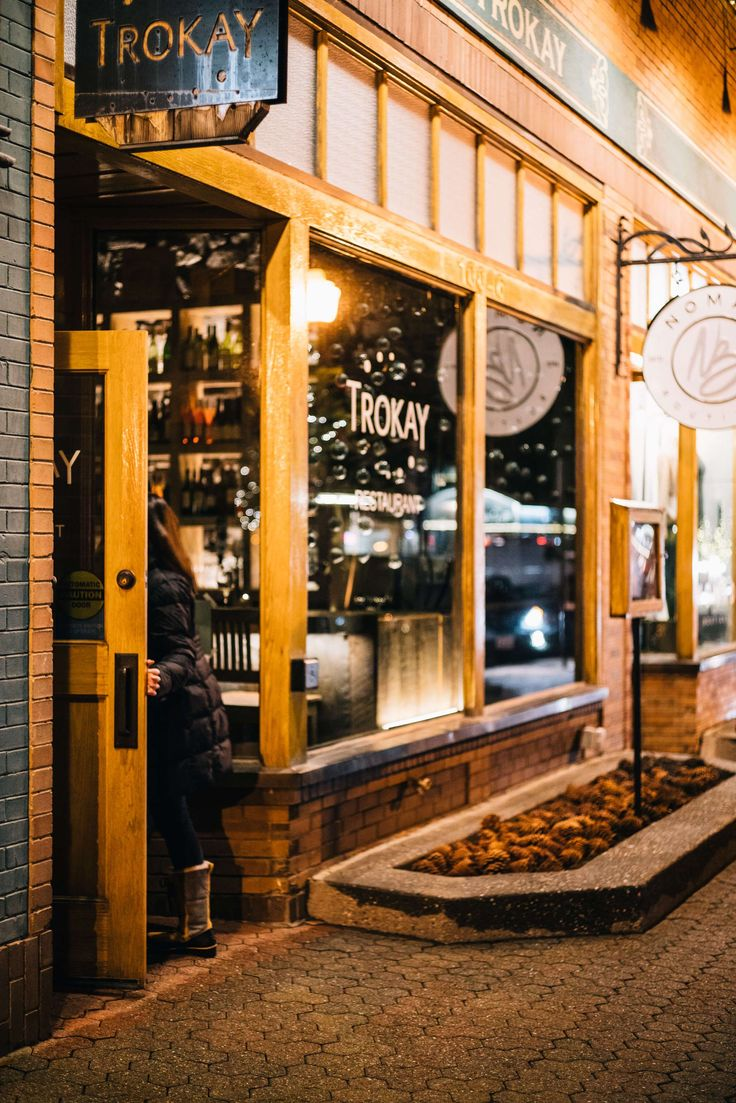 Visit one of the best restaurants in Truckee - the tasting menu and wine pairings are perfect! The Taste SF visits Trokay in Truckee Tahoe with Audi on demand   #travel #california #tahoe #hotel #ritzcarlton #truckee #ski #snow #northstar #restaurant
