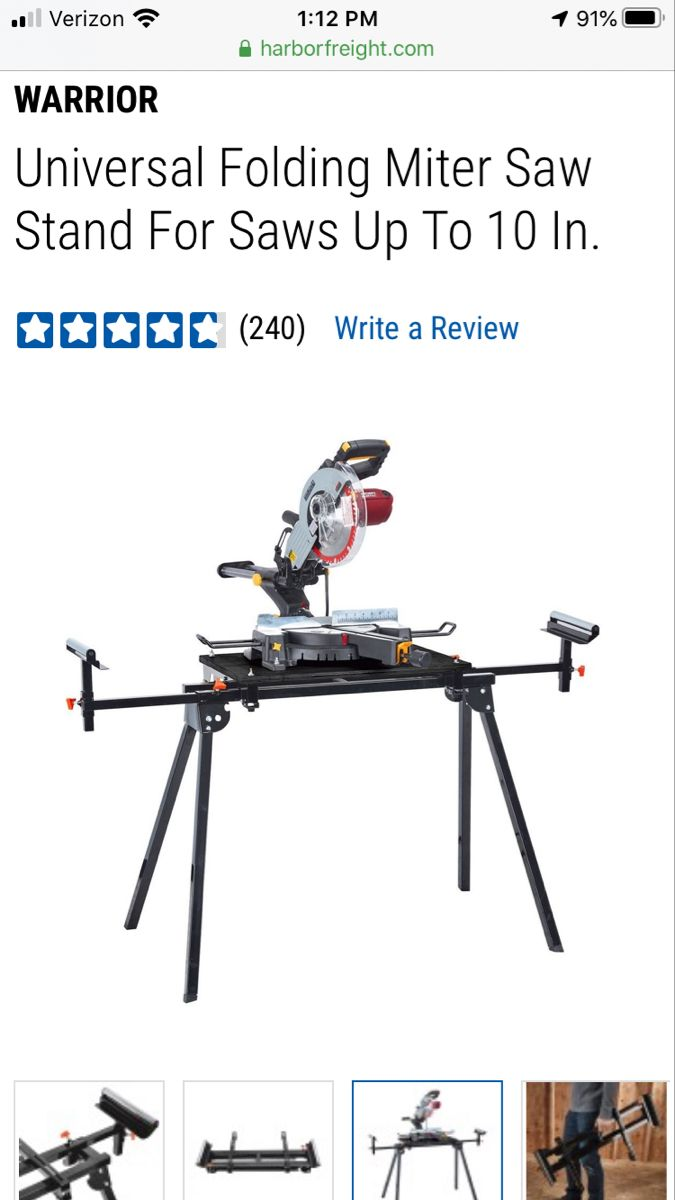 Universal Folding Miter Saw Stand For Saws Up To 10 In In 2020 Mitre Saw Stand Miter Saw Mitered