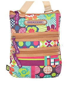 Lily Bloom Triple Zip Crossbody #belk #accessories #patterns