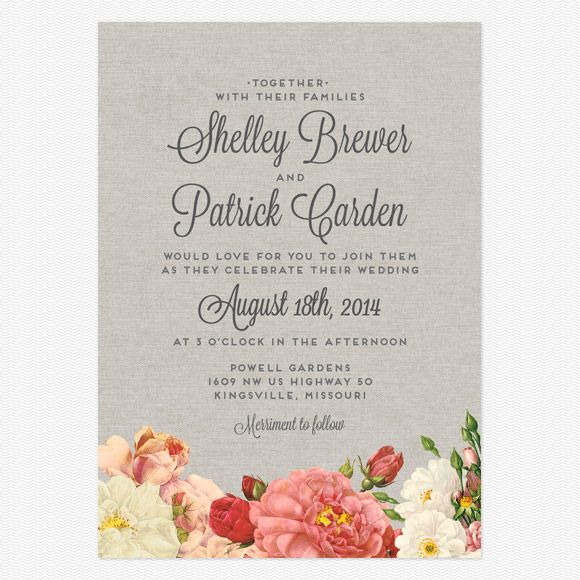 They have really cute simple wedding invitations (and decently priced too!)... Love vs. Design