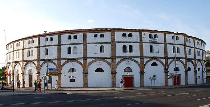 La Plaza de Toros de Cáceres.