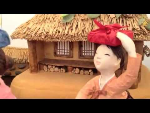 korea Culture traditional customs Mulberry paper doll 한국전통풍습