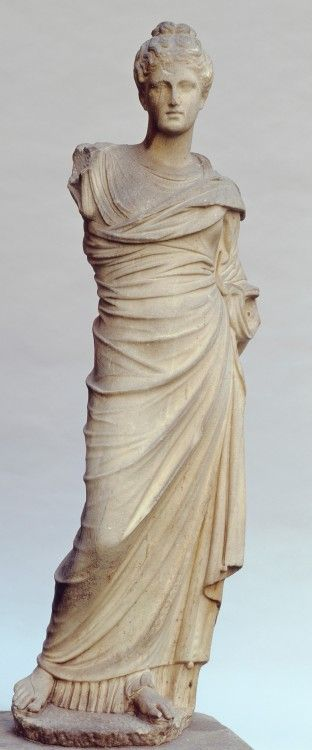 Goddess Persephone marble statue - circa 50BC-50 AD, heigt 151 cm - at the Gardner Museum