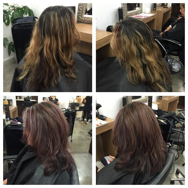 colour , foils toner cut