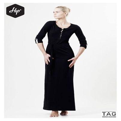 Φόρεμα-φόρμα (Maxi). Διαθέσιμο άμεσα σε μαύρο χρώμα.