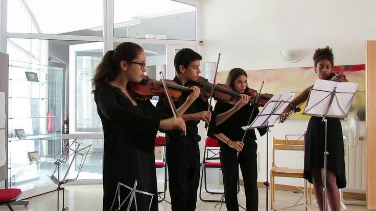 ZêzereArts 2016 na Biblioteca1... Duarte Fragoso no violino
