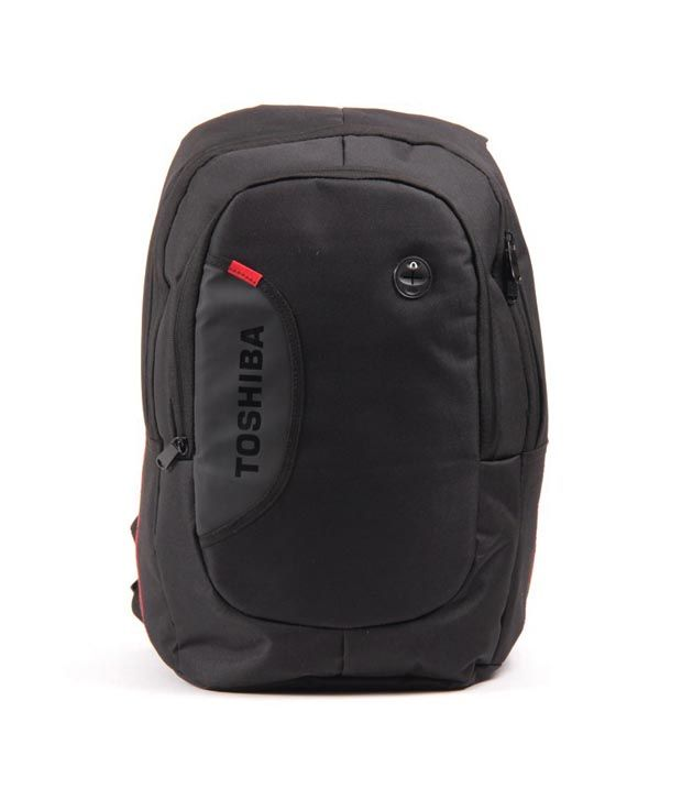 Toshiba Black Laptop Backpack, http://www.snapdeal.com/product/toshiba-black-laptop-backpack/815887930