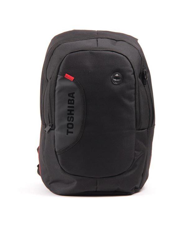 Toshiba Black Laptop Backpack, http://www.snapdeal.com/product/toshiba-black-laptop-backpack/815887930