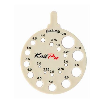 Stickmått/Knitting gauge