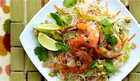 Rice noodle salads, Rice noodles and Noodle salads on Pinterest
