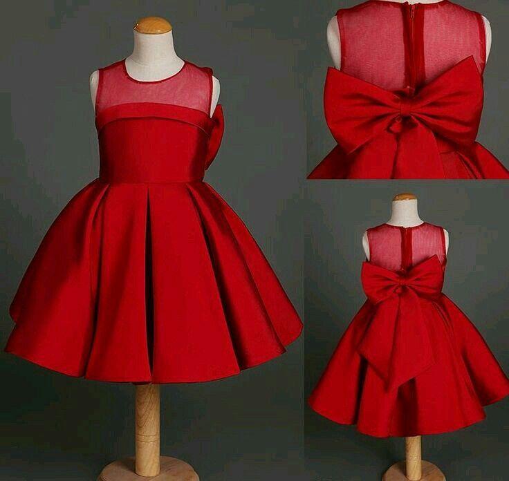 Resultado de imagen para vestidos de niña en pinterest