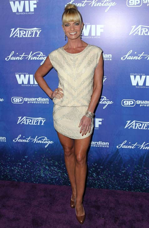 Jaime Pressly attends the Variety and Women in Film Pre-Emmy Event at Scarpetta on Friday, Sept. 21, 2012, in Beverly Hills, Calif.