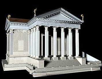 Templum Concordiae - Róma-Szenvedély