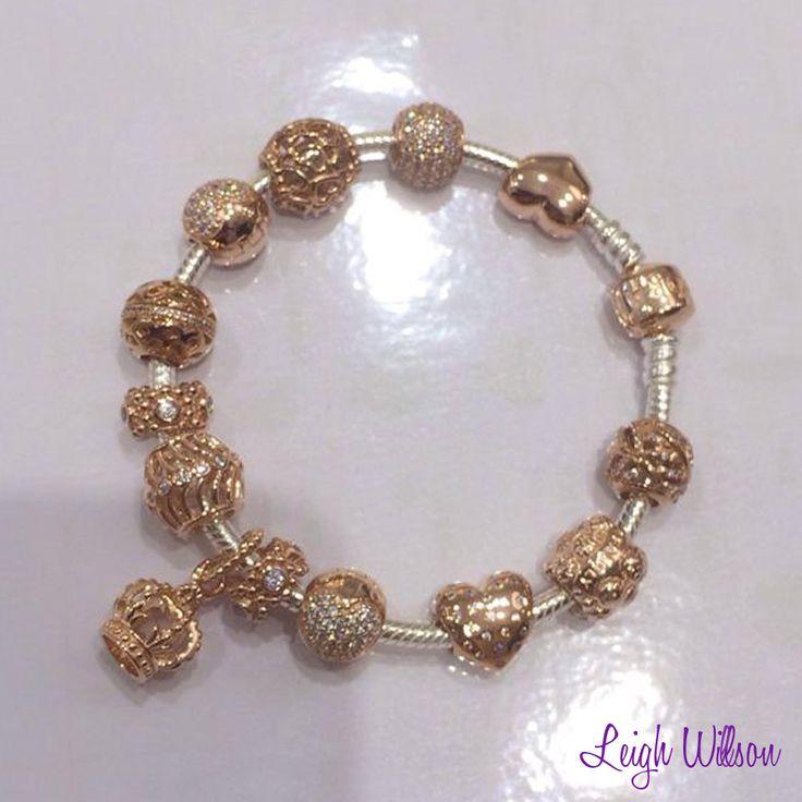 pandora 14k gold bracelet with murano - Google Search ...