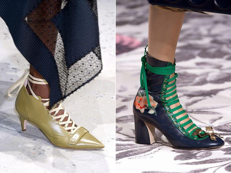 Обувь со шнуровкой: Derek Lam, Cucci