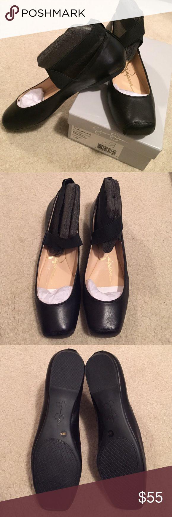 BNWT Jessica Simpson Mandalaye BNWT Jessica Simpson Mandalaye ballet shoes in size 11. Jessica Simpson Shoes Flats & Loafers