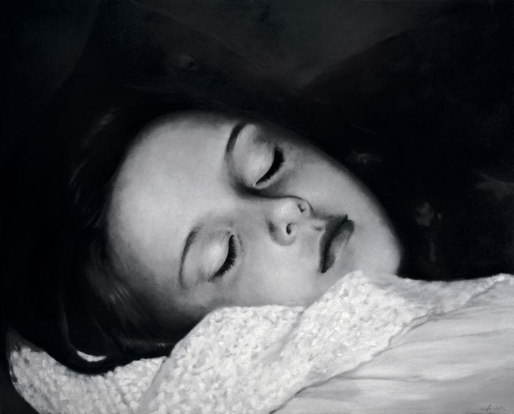 The sleep of sorrow Oil on canvas 115*145