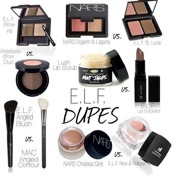 Makeup Dupes: ELF Product Dupes | mybeautyandfashion.com