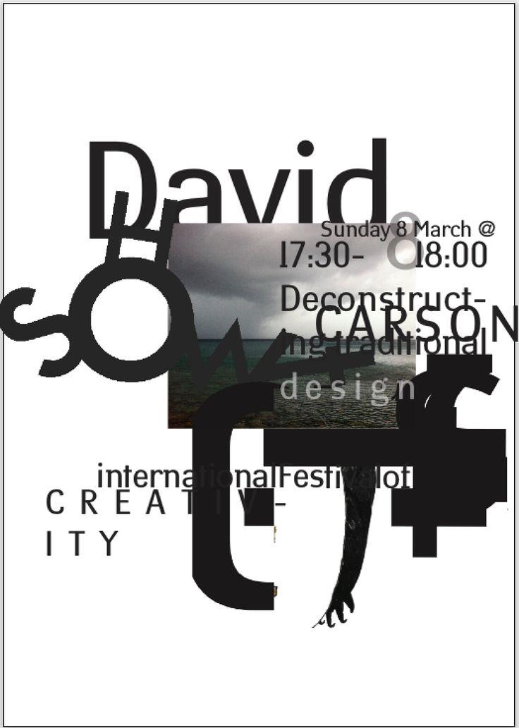 Dubai lecture at International Festival for Creativity, March 2015 #dubailynx #davdicarsonart