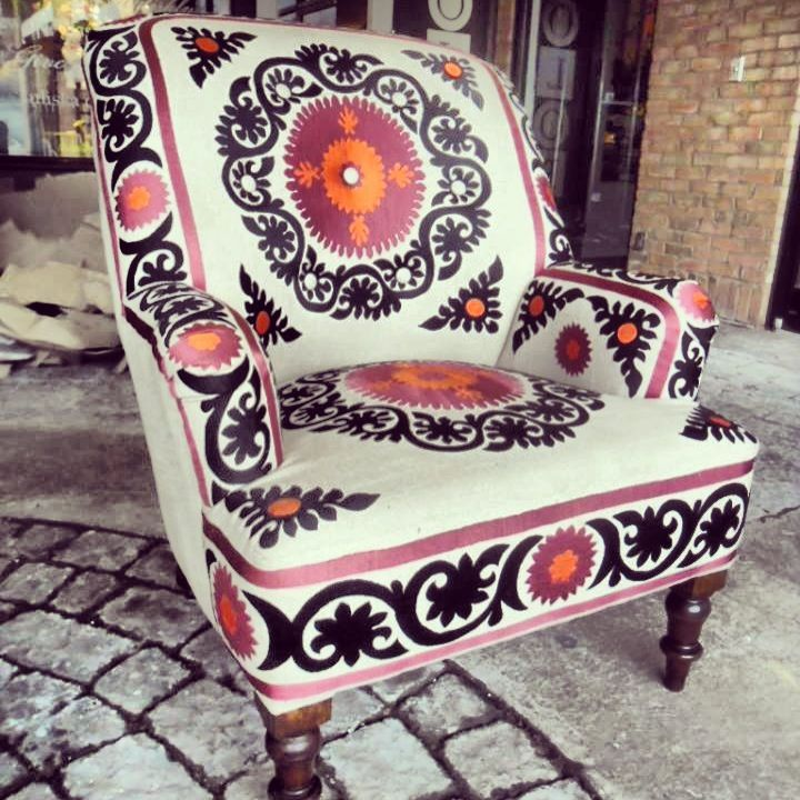 Nadeau - Store in Dallas- style chair but need diff. color pattern