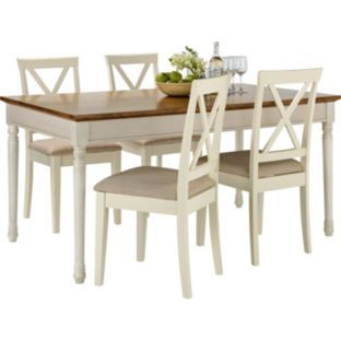 Buy Addington Dining Table And 4 Chairs At Argoscouk