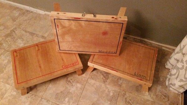Do It Yourself Home Design: Folding Lap Desk Christmas Presents