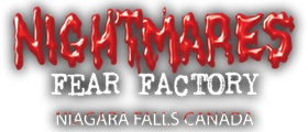 Niagara Falls Haunted House Nightmares Fear Factory. Canada's scariest attraction near Clifton Hill