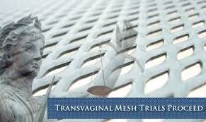 Transvaginal mesh trial proceed