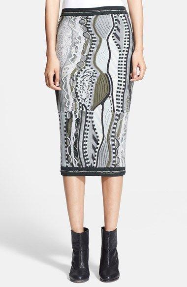 rag & bone x Coogi Knit Skirt available at #Nordstrom