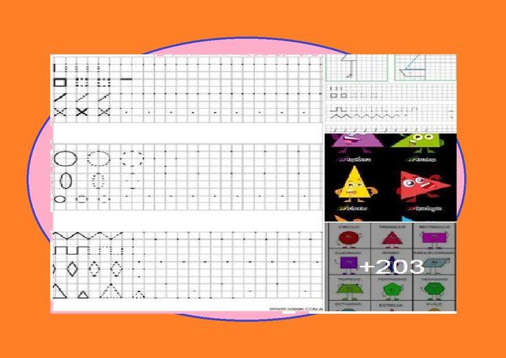200 Ejercicios para Mejorar la Letra con Figuras Geométricas
