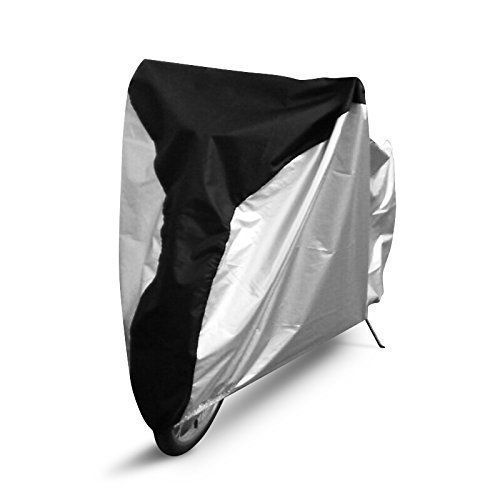 Bike Covers - Ohuhu Bike Cover 190T Extra Heavy Duty Outdoor Waterproof Bicycle Cover for Mountain Bike Road Bike >>> Be sure to check out this awesome product.