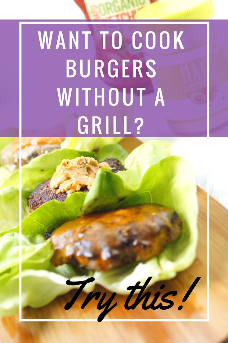 Beautiful Learn how to get that killer burger flavor without having to use an outside bbq