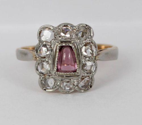 Stunning Victorian 0.7ct Rose Cut Diamonds