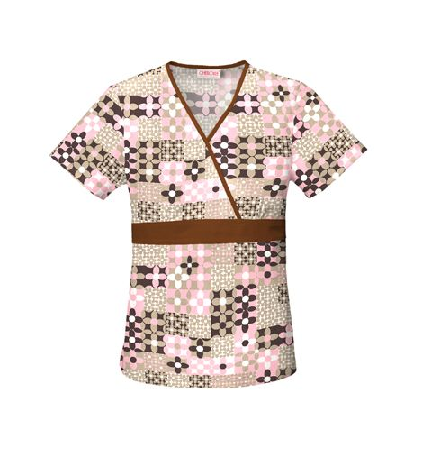 Free Scrub Shirt Pattern | scrub top the deauville scrub top is a soft simple quilt like pattern ...